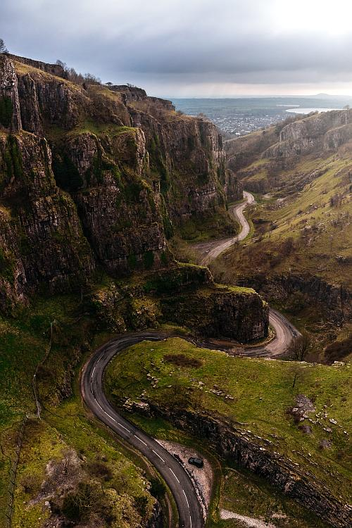 Cycling the Famous Cheddar Gorge Route uk