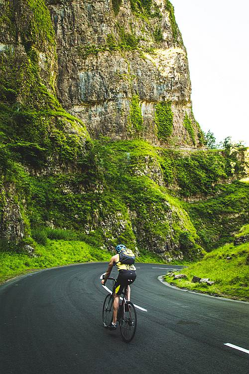 Cycling the Mendips Cheddar Gorge